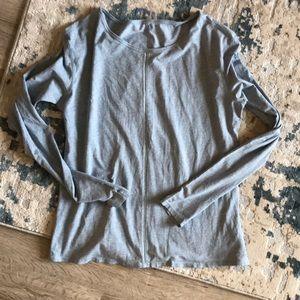 Lululemon Light Blue Long-Sleeve Top, worn twice